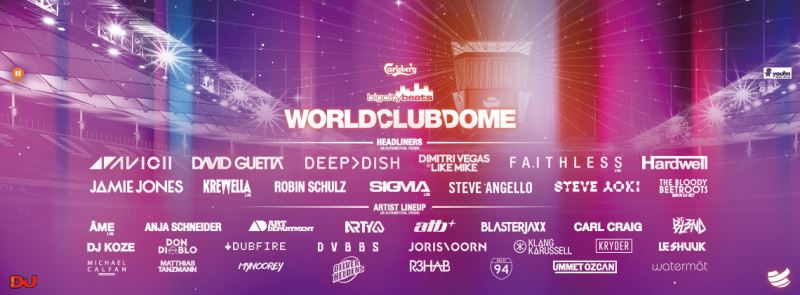 WorldClubDome2015 LineUp