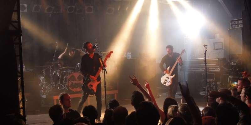 Chevelle live 2014 im Backstage München