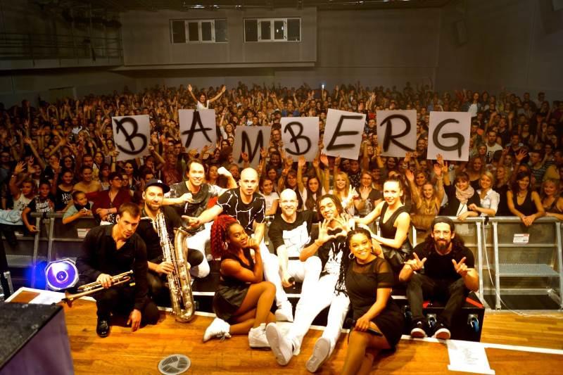 Culcha Candela auf Candelistan Tour 2015 in Bamberg