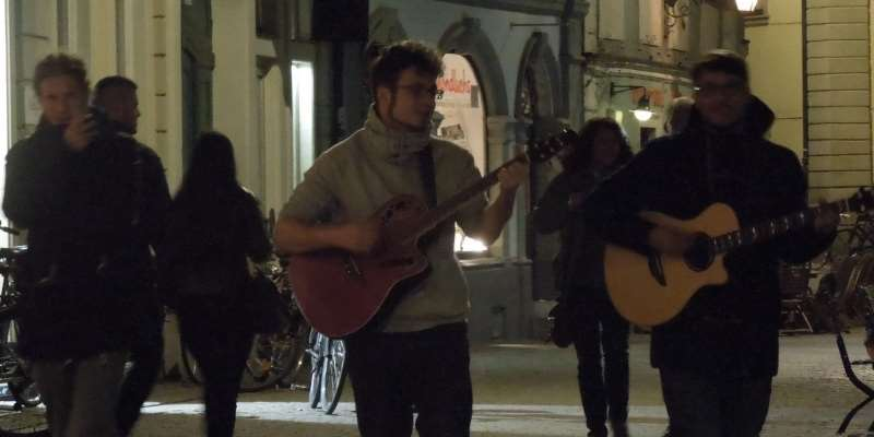 Sebastian Hackel und Rany live in Bamberg