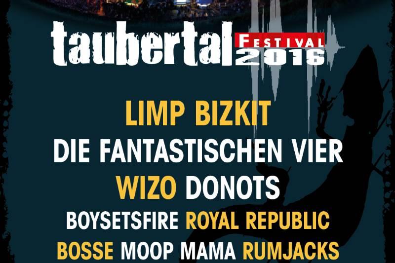 Limp Bizkit Taubertal Festival 2016