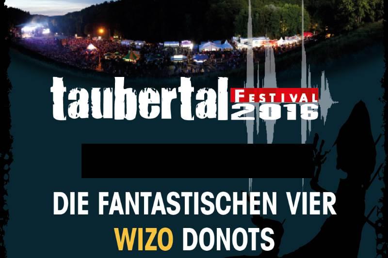 Taubertal Festival 2016 - Die ersten Bands