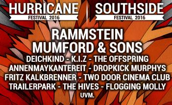 Tickets für Southisde 2016 und Hurricane 2016 kaufen