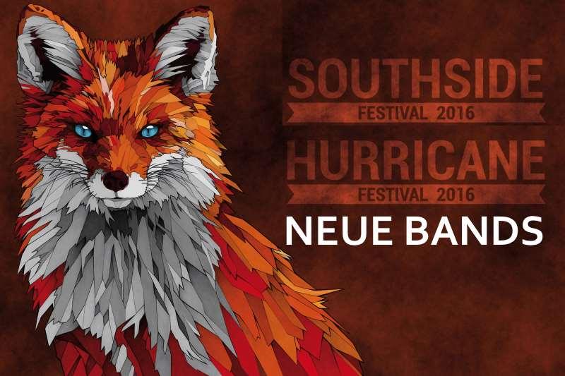 Neue Bands und Bestätigungen für Hurricane und Southside Festival 2016