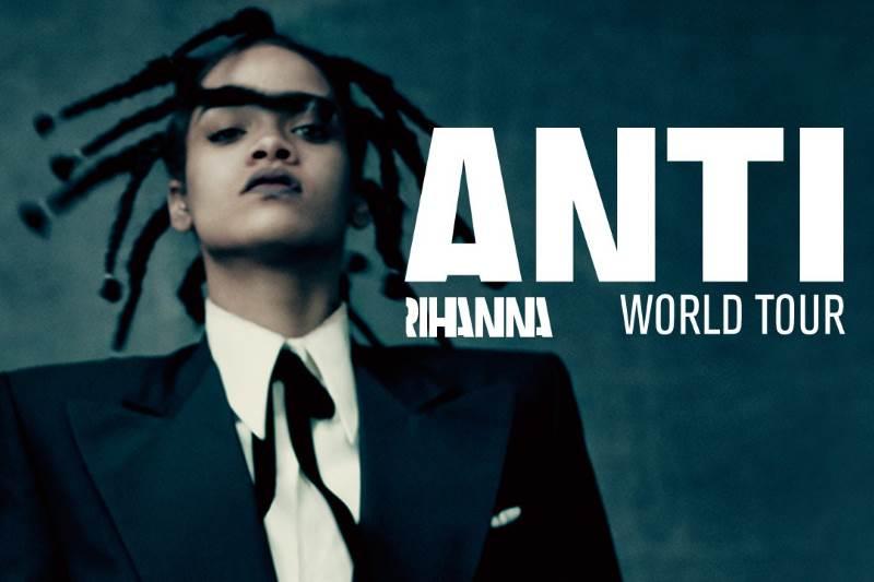 Rihanna Anti World Tour 2016