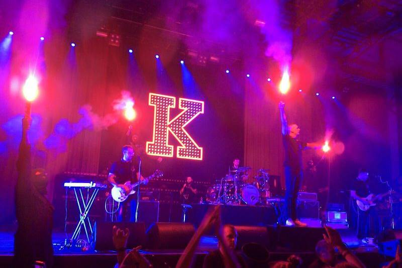 Kraftklub live in Bamberg am 16.01.2016