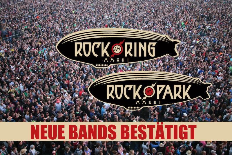 Rock im Park und Rock am Ring bestätigen weitere Bands
