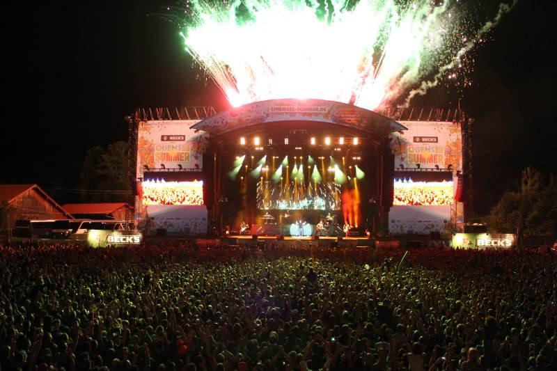 Chiemsee Summer 2016 - Neue Bands und Tagesverteilung