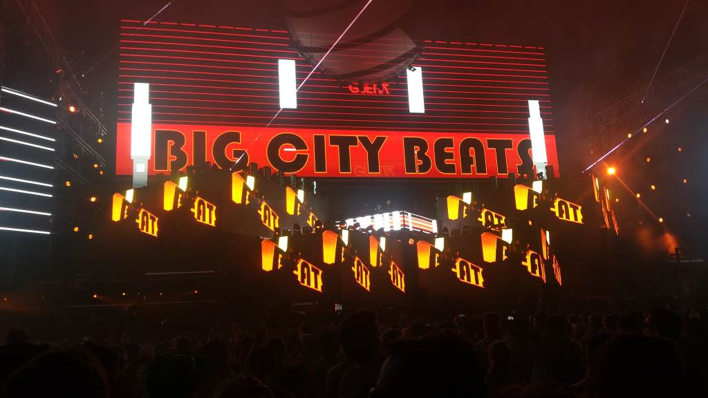 Big City Beats 2016 World Club Dome Bühnenbild