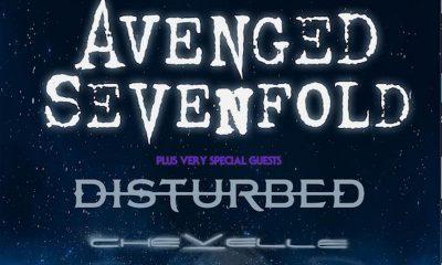 Avenged Sevenfold Tour 2017 mit Disturbed und Chevelle