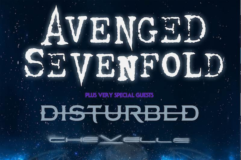 Avenged Sevenfold Tour 2017 mit Disturbed und Chevelle