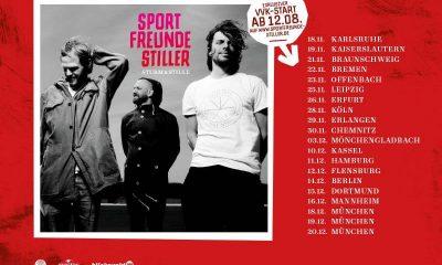 Sportfreunde STiller Sturm & Stille Tour 2016