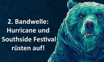 Zweite Bandwelle für Hurricane und Southside Festival 2017
