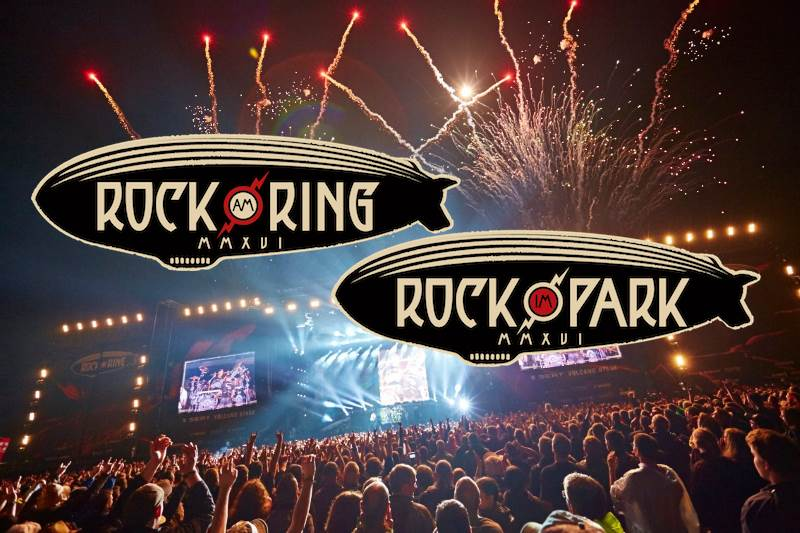 Bands für Rock am Ring und Rock im Park 2017