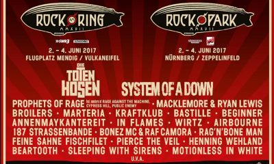 Rock im Park und Rock am Ring 2017 Tickets