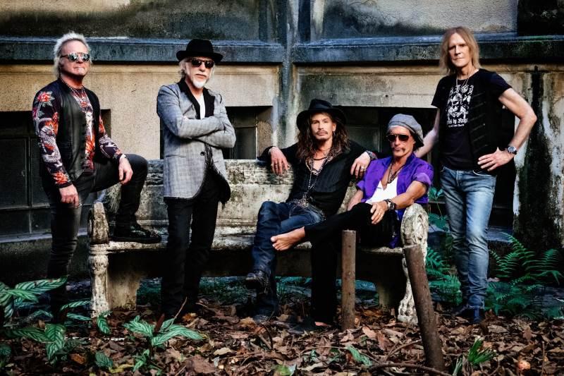 Aerosmith Aero-Vederci Baby Tour 2017