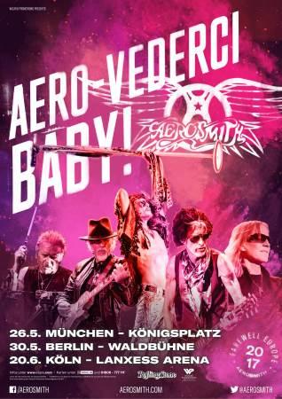 Aerosmith AeroVederci Tour 2017