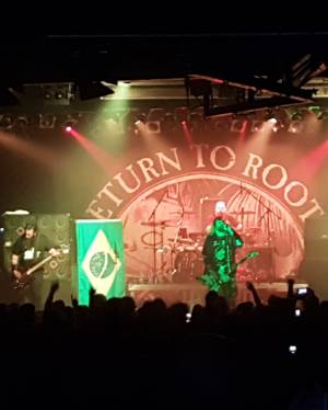 Max und Igor Cavalera Return to Roots Tour 2016 München