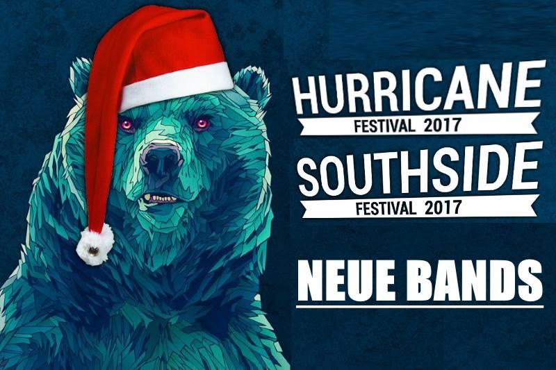 Hurricane und Southside Festival 2017: Dritte Bandwelle