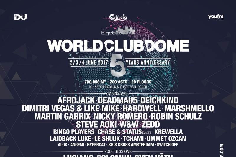 Big City Beats World Club Dome 2017