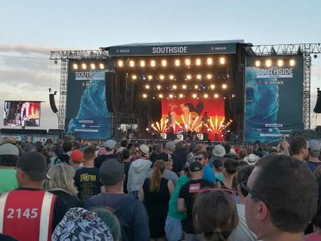 Blink 182 beim Southside Festival 2017