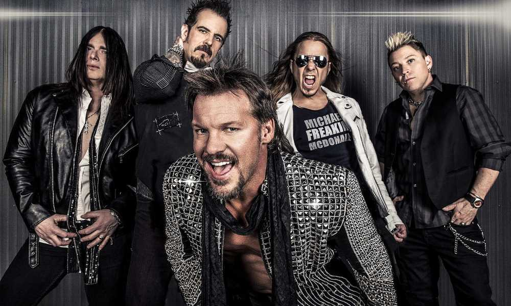 Fozzy Chris Jericho Interview