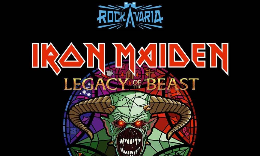 Iron Maiden Rockavaria 2018 Headliner