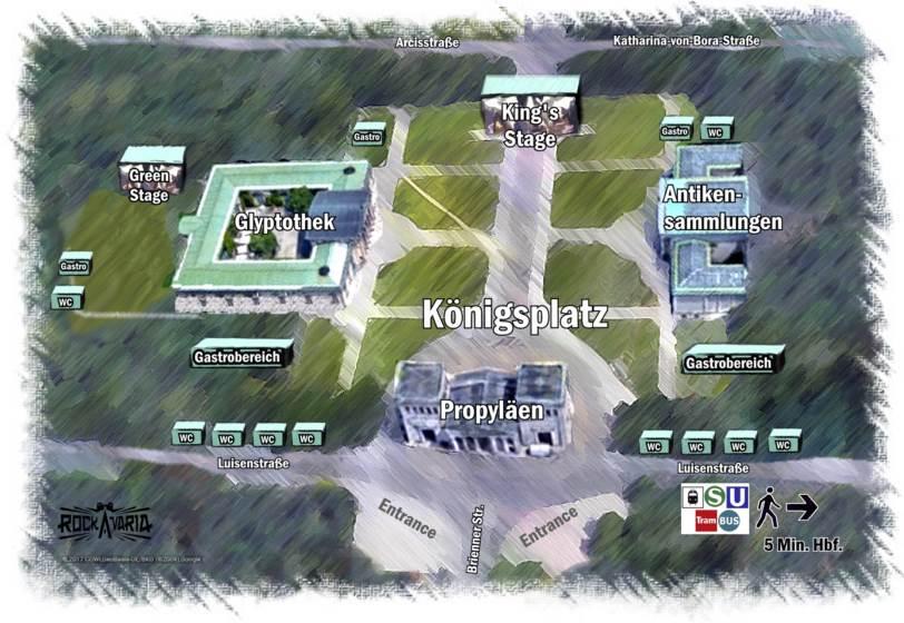 Rockavaria Geländeplan 2018