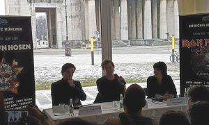 Rockavaria 2018 Pressekonferenz mit Campino von Die Toten Hosen