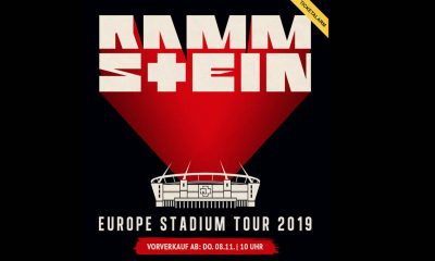 Rammstein Tour 2019 Tickets