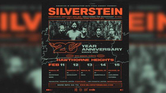 Silverstein Tour 2020