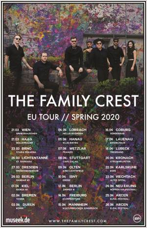 The Family Crest Tour 2020 Poster